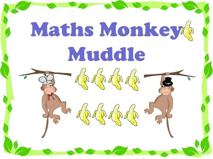Maths Monkey Muddle