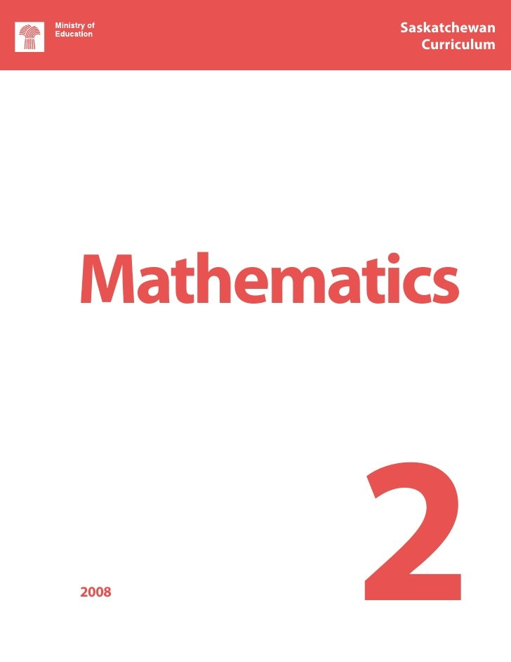 Saskatchewan         Saskatchewan            Curriculum            CurriculumMathematics2008   2