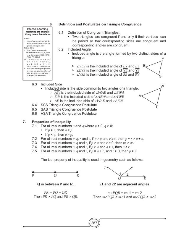 Worksheets Indirect Proof Worksheet With Answers mathematics 8 triangle inequality 18