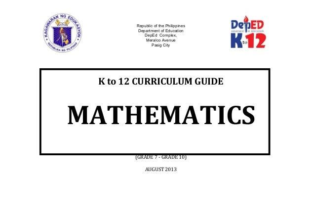 Mathematics 8 cg