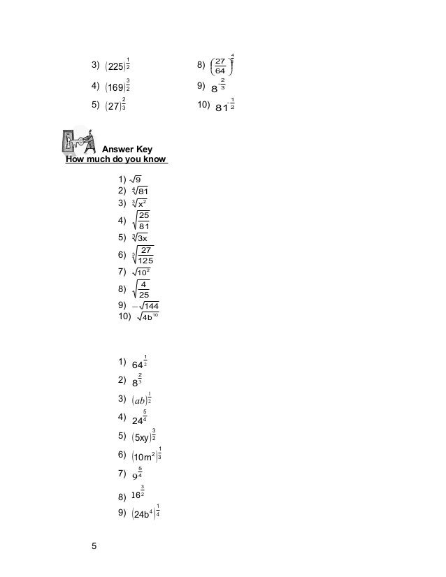 Mathematics 9 Radical Expressions (1)