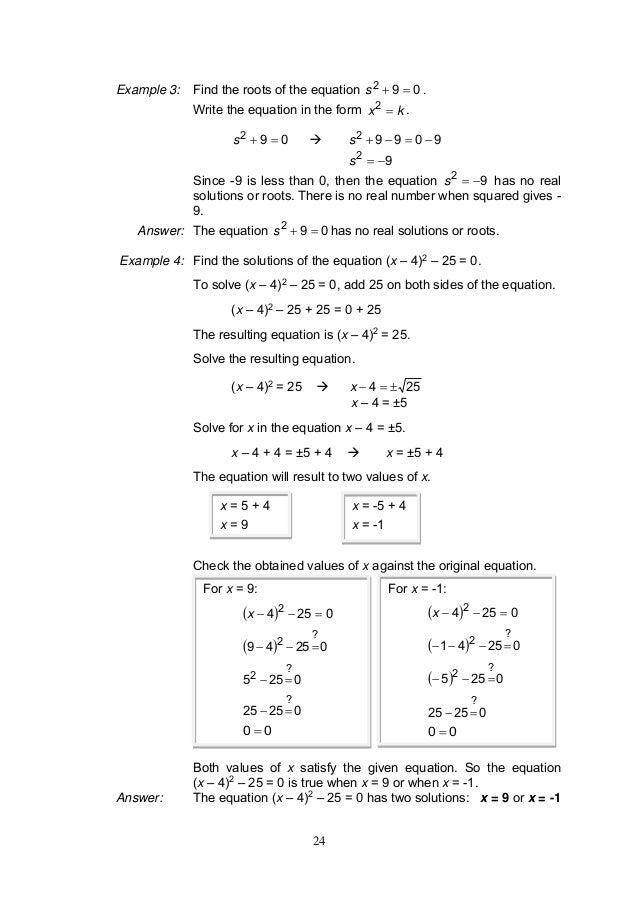 problem solving 9-9 the quadratic formula and the discriminant