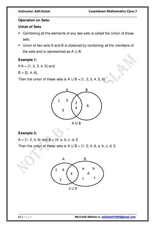 Countdown Mathematics Class 7th Second Edition Chapter 1 Solution
