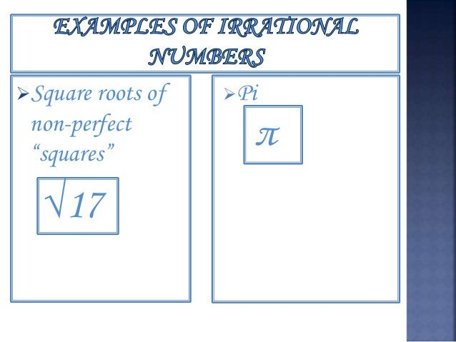  One of the subsets of rational numbers