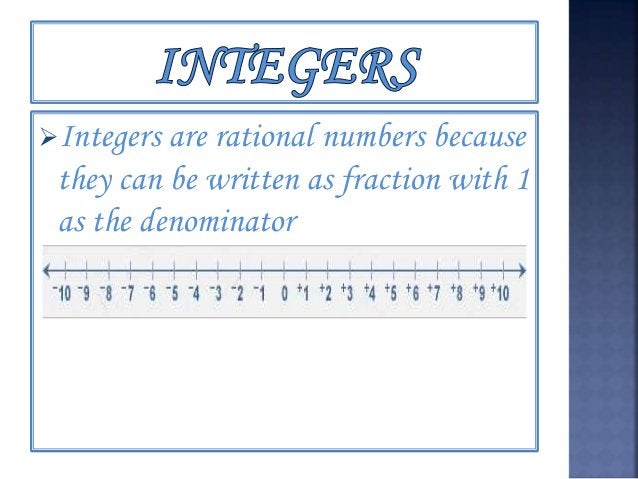 Whole numbers one of the subsets of rational numbers
