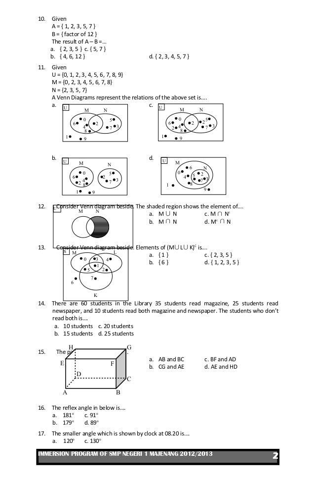 Ukk matematika kelas vii 2013 ccuart Images