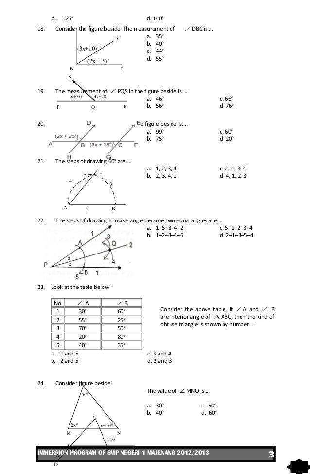 Ukk matematika kelas vii 2013 3 ccuart Images
