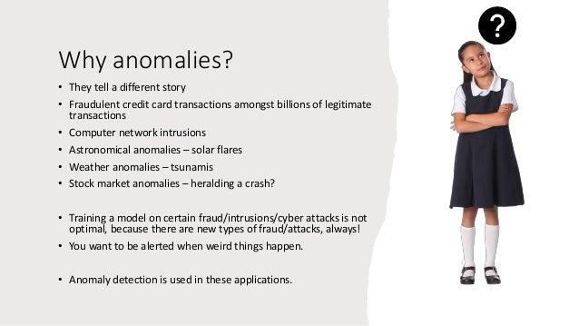Mathematics of anomalies Slide 2