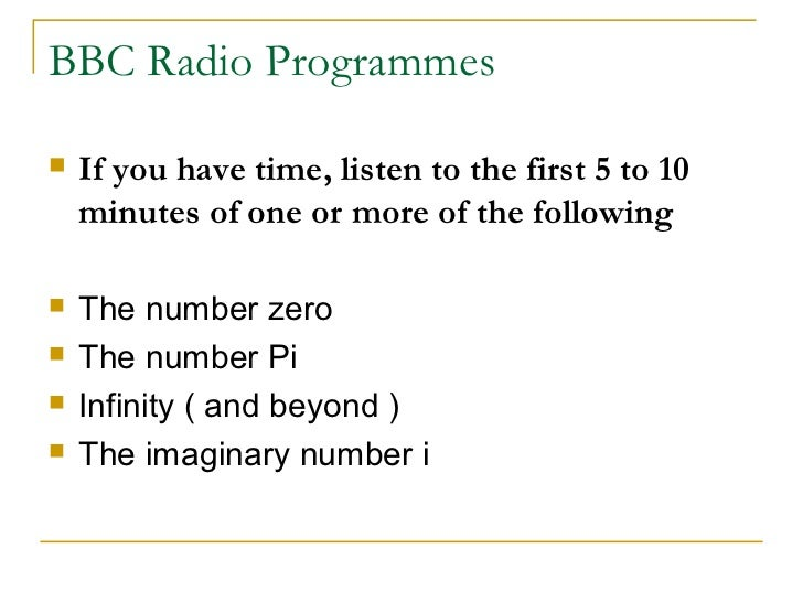 Mathematics Power Point 2012 13