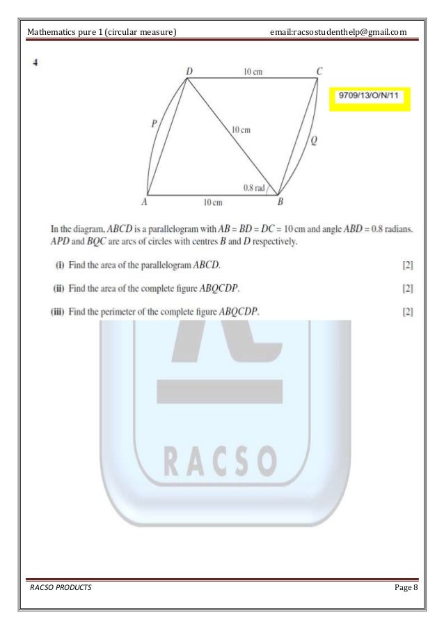 circular measure The trigonometry of circles definitions and formulas for the arc and the arc length of a circle, sector and the area of the sector of a circle, the unit circle, the.
