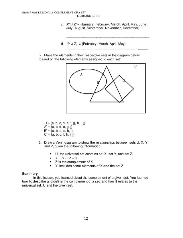 Free printable math worksheets for 12th grade