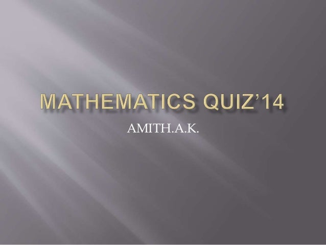 AMITH.A.K.