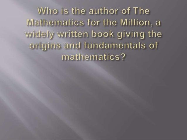 Mathematics quiz  -  part - 3 - 2014 Slide 2