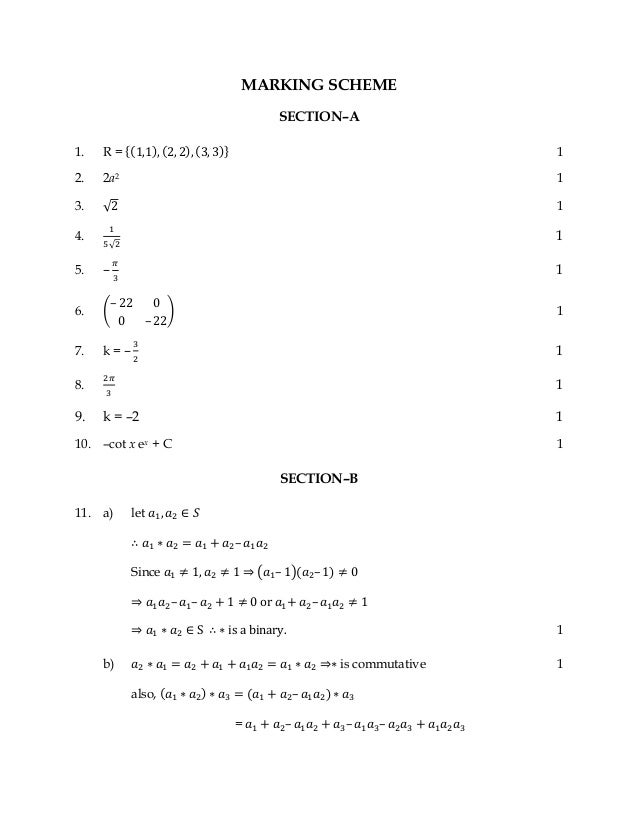 Mathematics 2014 sample paper and blue print 11 malvernweather Images