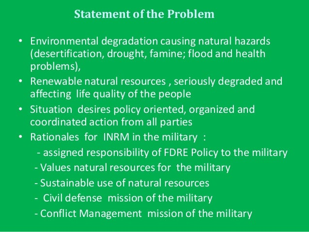destabilising the environment-conflict thesis One of the key macro trends in the current strategic environment, and one that we   the potential for destabilizing migration is a growing concern for key states  within the  bloc confrontation is unlikely53 but the huntingtonian thesis is.