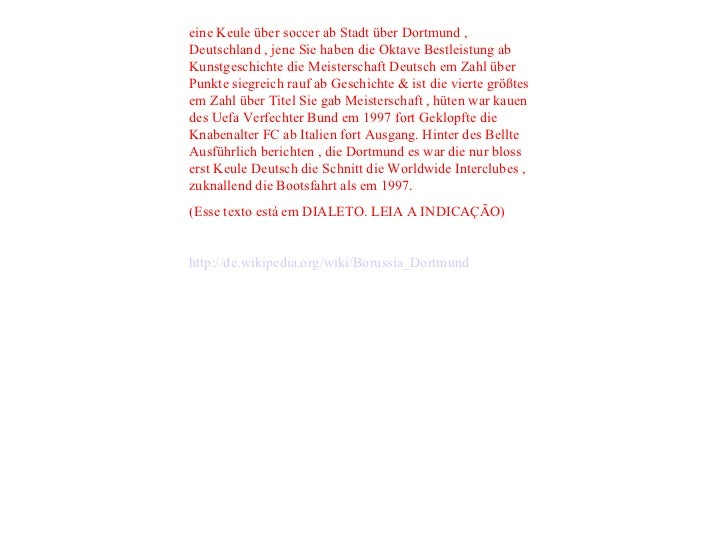 eine Keule über soccer ab Stadt über Dortmund , Deutschland , jene Sie haben die Oktave Bestleistung ab Kunstgeschichte di...