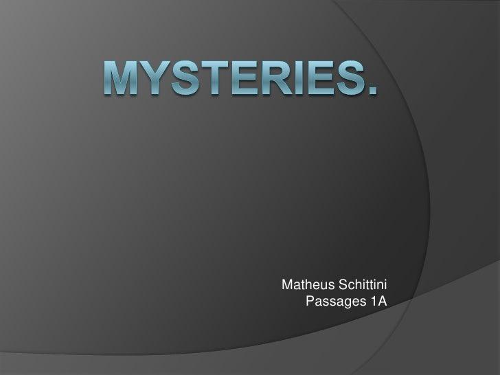 Matheus Schittini   Passages 1A