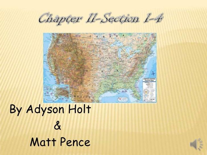 By Adyson Holt       &   Matt Pence