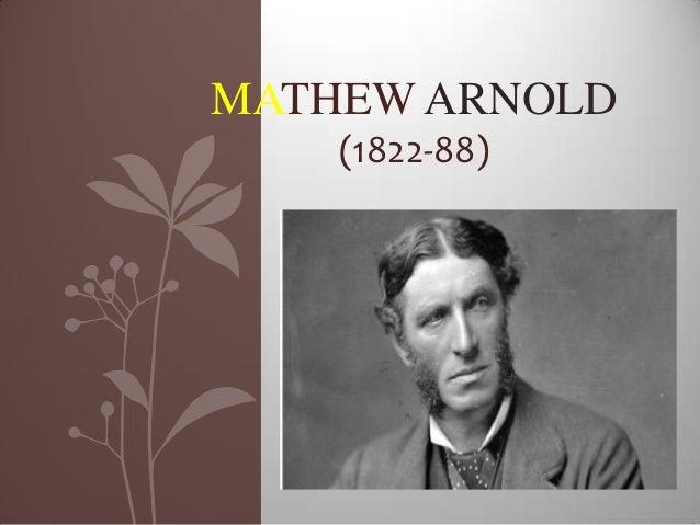 MATHEW ARNOLD    (1822-88)