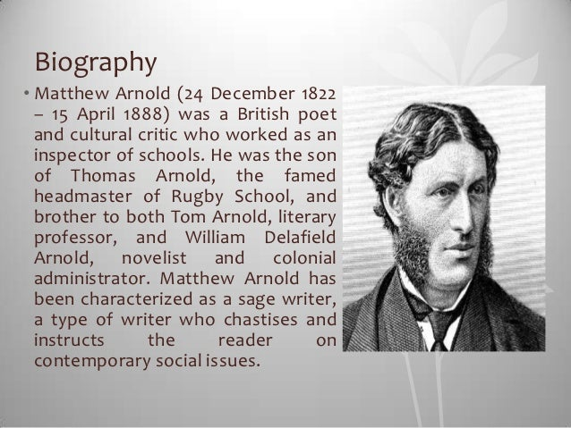 Matthew arnold essays in criticism second series