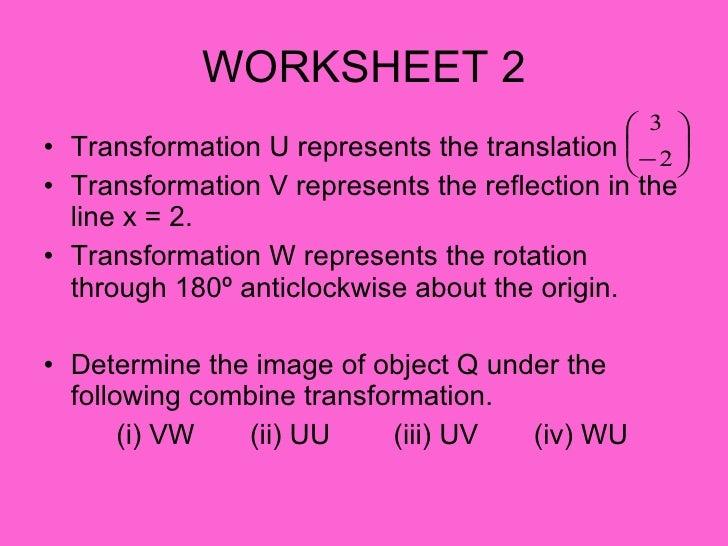 Mathf5 Transformation Iii