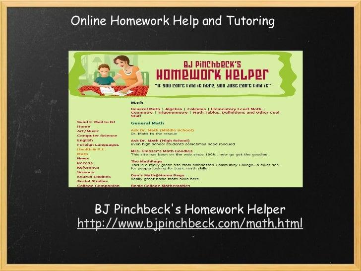Dr math homework help