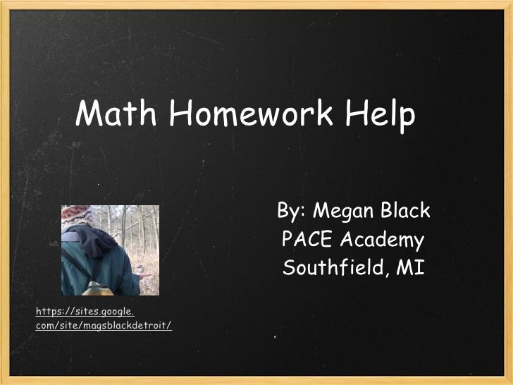 website to help with math homework Free math problem solver answers your algebra homework questions with step-by-step explanations.
