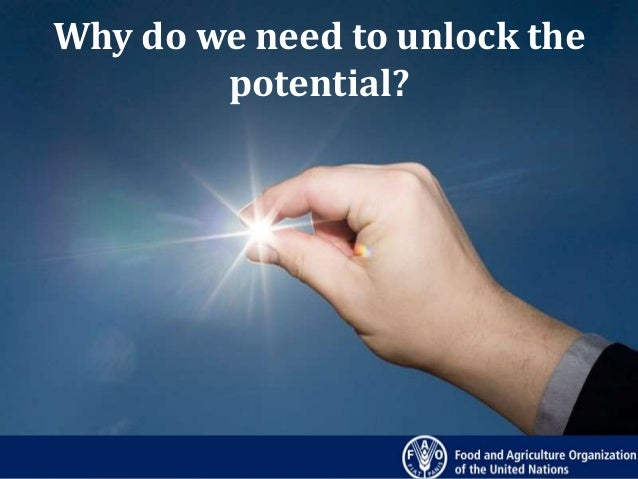 Why Do We Need To Unlock The Potential