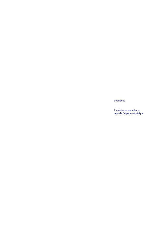sommaire 4Avant-propos Ontologie du numérique 8 Virtuel, réel, possible et actuel  D'où vient le virtuel ?  Qu'est c...