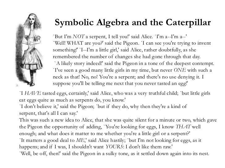 alices adventures in algebra wonderland solved answers