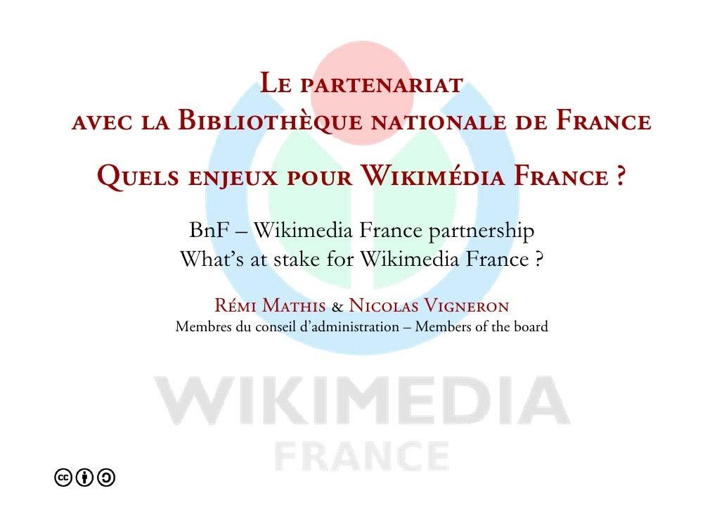 iÉ=é~êíÉå~êá~í=~îÉÅ=ä~=_áÄäáçíÜ≠èìÉ=å~íáçå~äÉ=ÇÉ=cê~åÅÉ nìÉäë=ÉåàÉìñ=éçìê=táâáã¨Çá~ cê~åÅÉ=       BnF – Wikimedia France p...