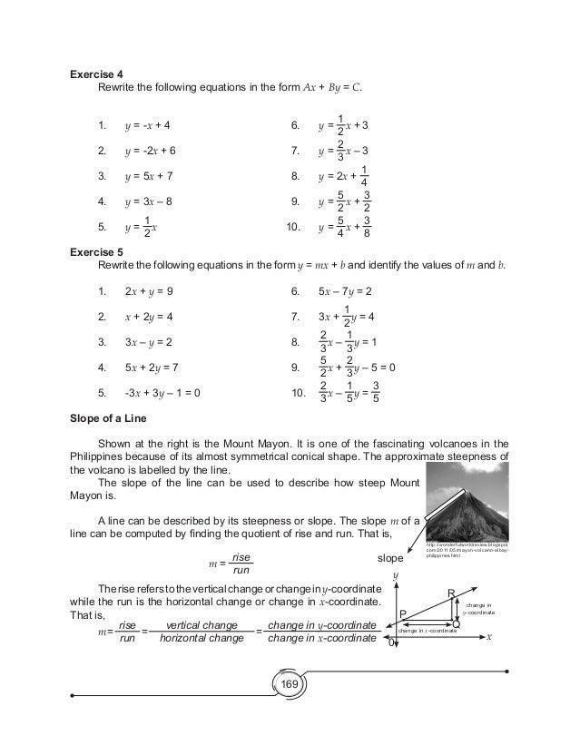 Complex Numbers Worksheet Form G: MATH MODULE GRADE 8,