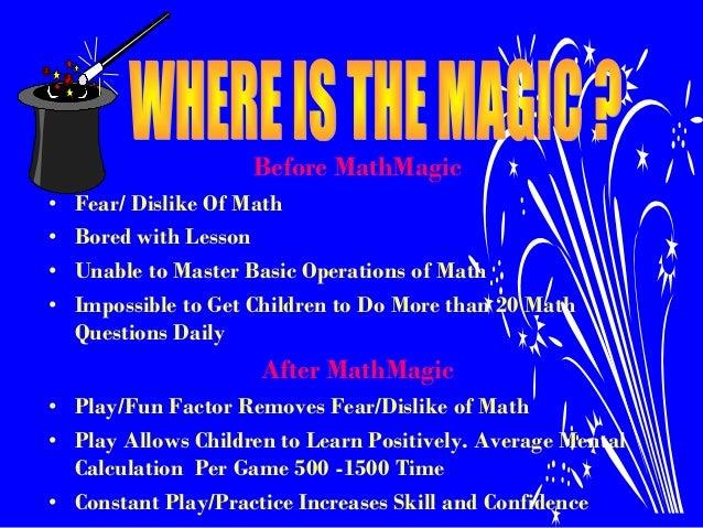 Math magic presentation
