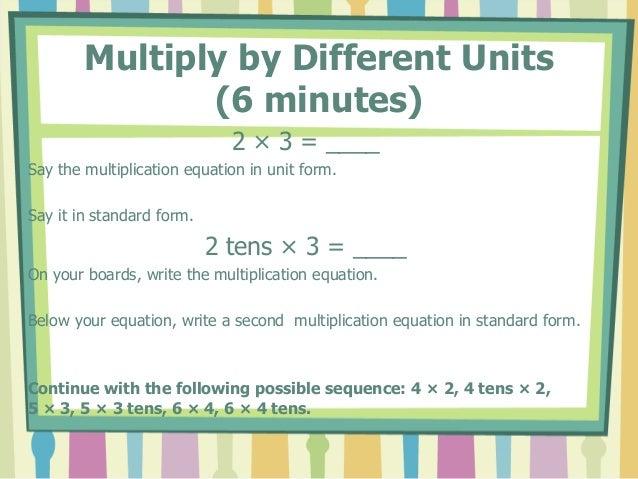 Math module 3 lesson 20