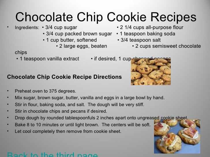 16 Chocolate Chip Cookie Recipes