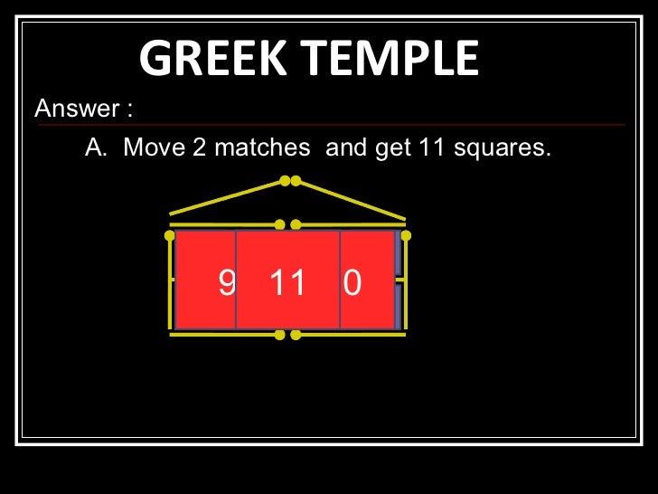 Math puzzles on