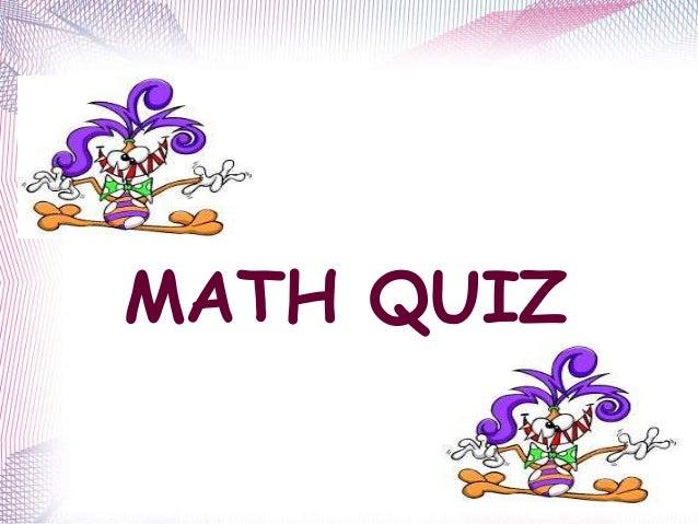 Math quiz upcoming slideshare toneelgroepblik Gallery