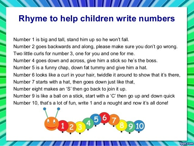 Math Rhymes