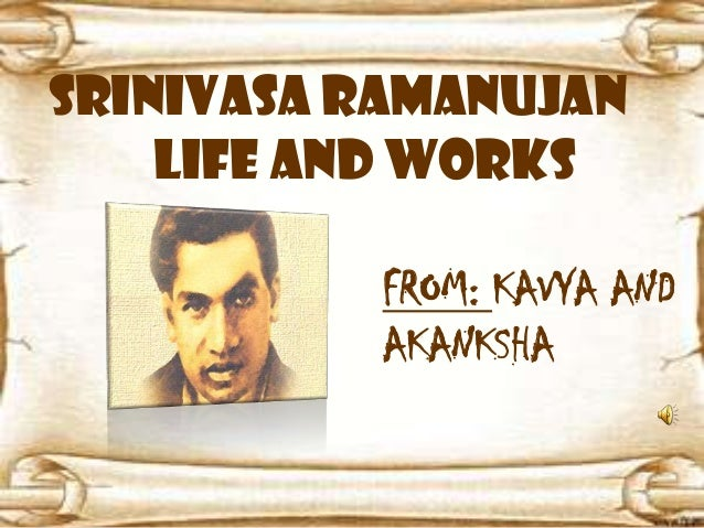 essay on contribution of srinivasa ramanujan in mathematics