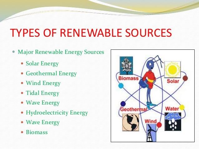 4 Types Of Alternative Energy Sources