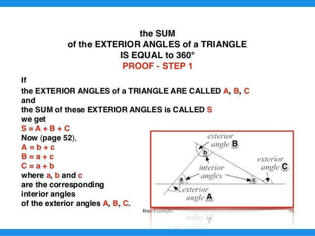 Maths Symbols Triangles First Properties