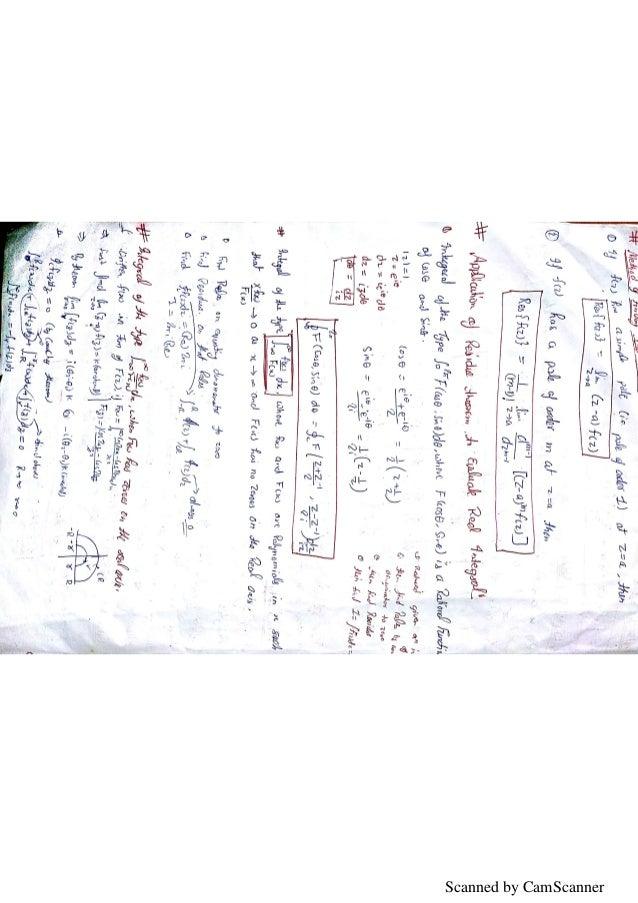 Engineering mathematics- 3 unit wise formula and methods