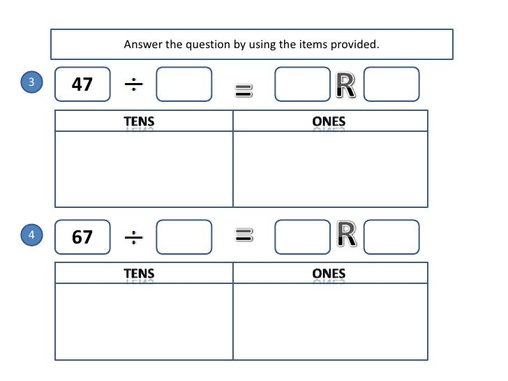 Maths Division With Regrouping In Tens And Ones Worksheet