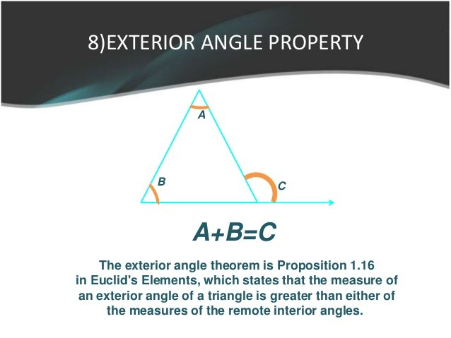 ... 29. 8)EXTERIOR ANGLE PROPERTY ...