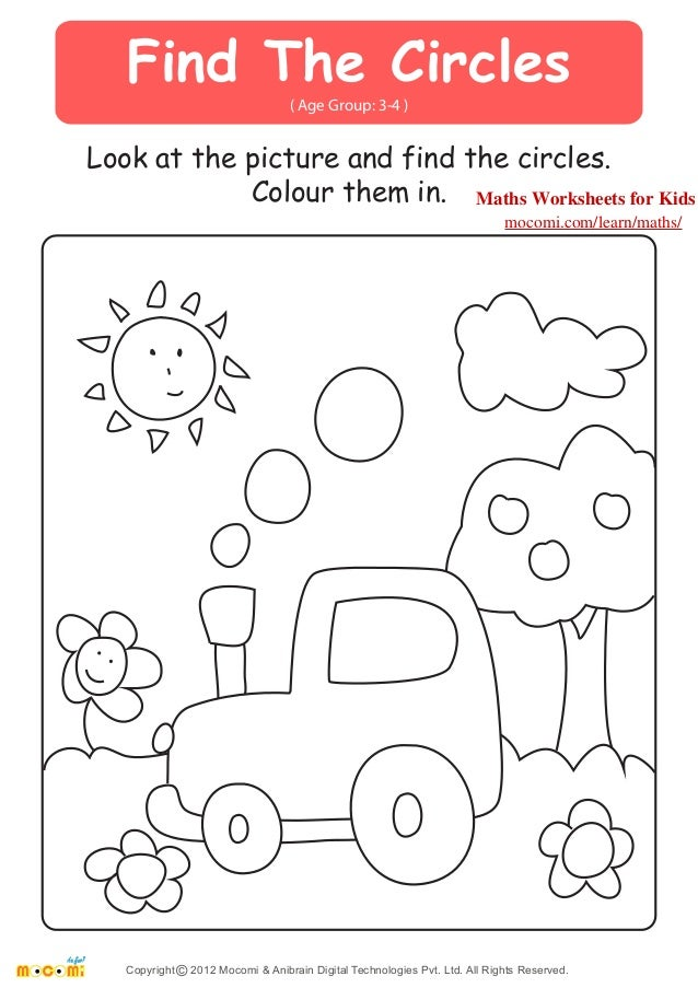 Circles Worksheets Scalien – Maths Circles Worksheets