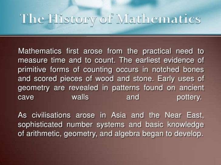 Essay on use of mathematics in our daily life