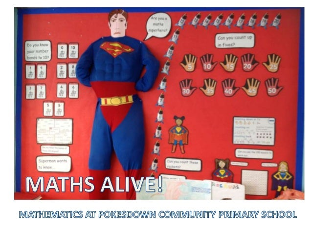 Every classroom has aspecific maths learningarea.In Foundation Stage thisincludes a wide range ofpractical resourcesselect...