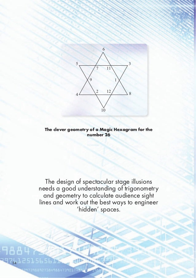 The clever geometry of a Magic Hexagram for the number 26 The design of spectacular stage illusions needs a good understan...