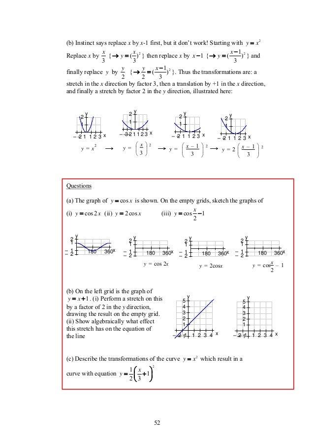 Maths Revision Notes - IGCSE