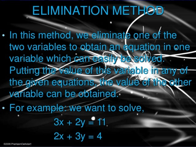 LINEAR EQUATION IN TWO VARIABLES PPT